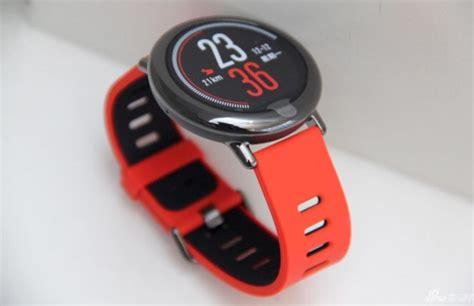 huami amazfit el primer smartwatch de xiaomi