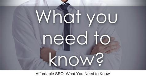 Affordable Seo by Affordable Seo What You Need To Business Marketing