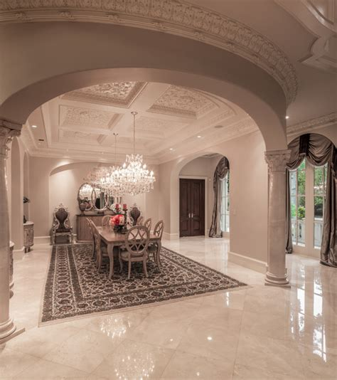 saddlebrook estate mediterranean dining room houston  patrick berrios designs