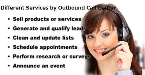 The Different Services Provided By An Outbound Call Center