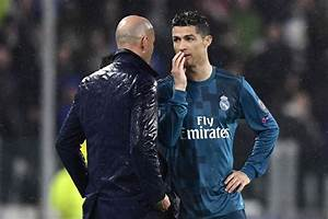 Real Madrid News Zinedine Zidane Reacts To Cristiano