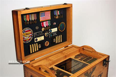 custom military retirement keepsake shadowbox