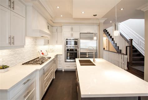kitchen and cabinets by design aya fairfax oyster and pacifica slate grey maple 7665