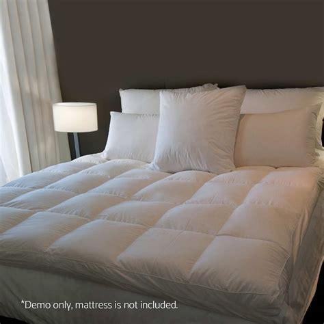 pillow top mattress cover 1000gsm mattress topper pillowtop duck feather pillow