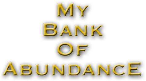 contact us my bank of abundance