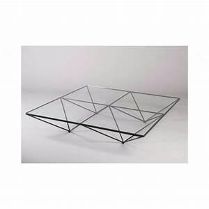 Table Basse Metal Verre : table basse alanda en m tal et verre paolo piva 1980 design market ~ Mglfilm.com Idées de Décoration