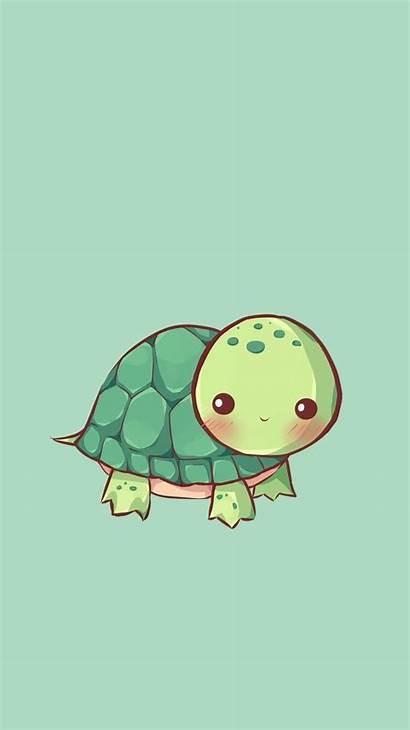Turtle Wallpapers Cartoon Turtles Kawaii Drawings Save