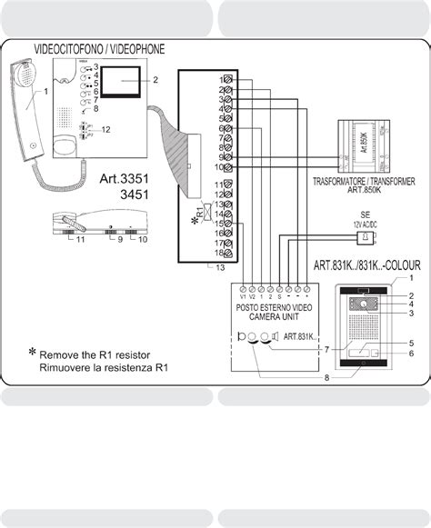 Bell Intercom Wiring Diagram Dvr Beauteous Stylesync