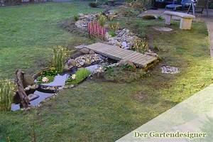 Kleiner Bachlauf Garten : bachlauf anlegen und gestalten der gartendesigner ~ Michelbontemps.com Haus und Dekorationen