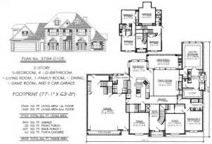 5 bedroom house plan 5 bedroom to estate 4500 sq ft