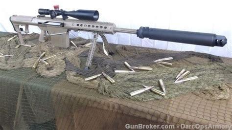 50 Bmg Suppressor by Barrett M107a1 20 Quot Cq Fde 50 Bmg Qdl Suppressor Semi