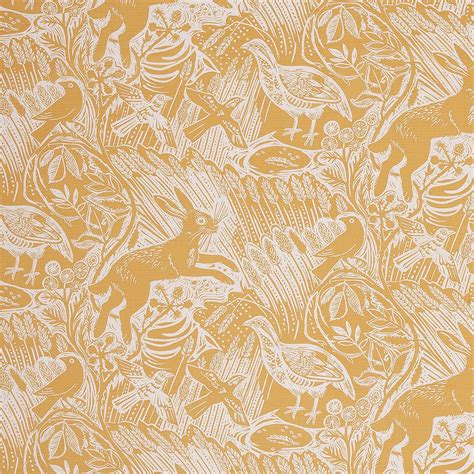 harvest hare mark hearlds iconic fabric designed  st