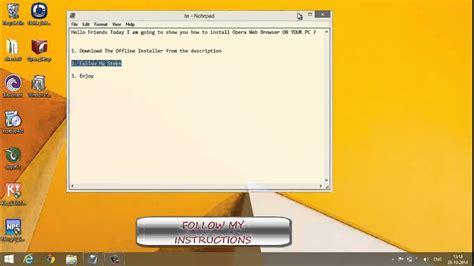 Start memu then open google play on the desktop. Opera Mini Offline Installer For Pc : OPERA 17.0 Latest ...