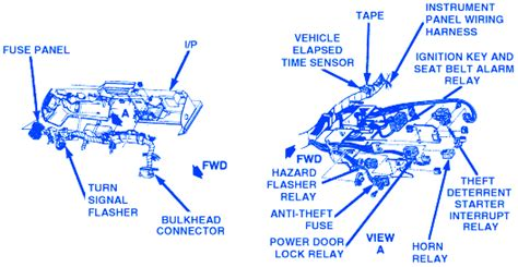 Chevrolet Corvette Fuse Box Block Circuit Breaker