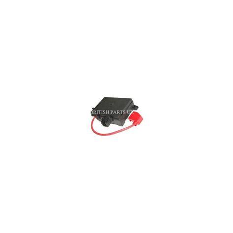 range rover fuse box
