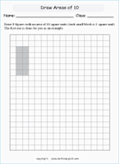 drawing rectangles worksheet printable