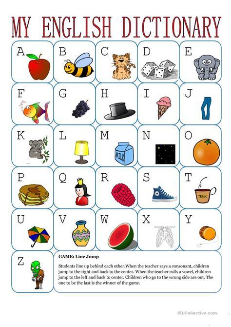 english alphabet worksheet  esl printable