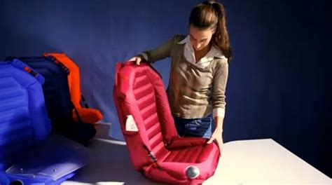 inflatable easycarseat  future  childrens car seats