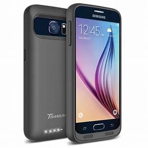 Atomic S Battery Case For Samsung Galaxy S6  U2013  Black    Black