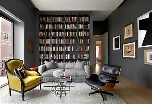 Amnager Une Bibliothque Murale Dans Son Salon Quelle