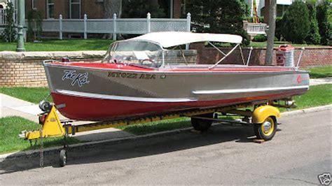 Crestliner Antique Boats by Vintage Crestliner Wresting