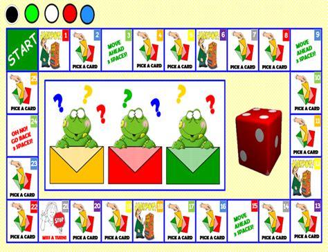 Smart Board Board Game ( Present Continuous)