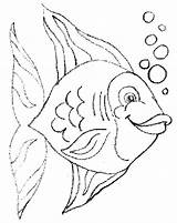 Coloring Pages Fish Fishing Pout Drawing Puffer Printable Colouring Cute Bass Getdrawings Educative Rainbow Getcolorings Comments sketch template