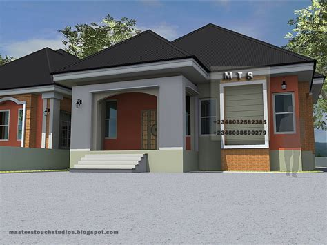 bedroom twin bungalow residential homes  public designs