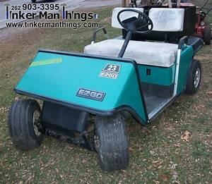 1987 Ez Go Golf Cart  U2013 Sold  U2013 Tinker Man Things