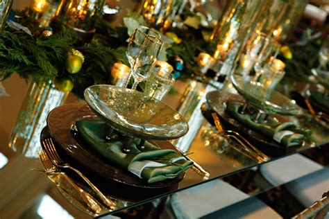 and green christmas table decorations green and gold holiday table decor elizabeth anne designs the wedding blog
