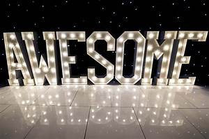 Marquee Lighting Letters