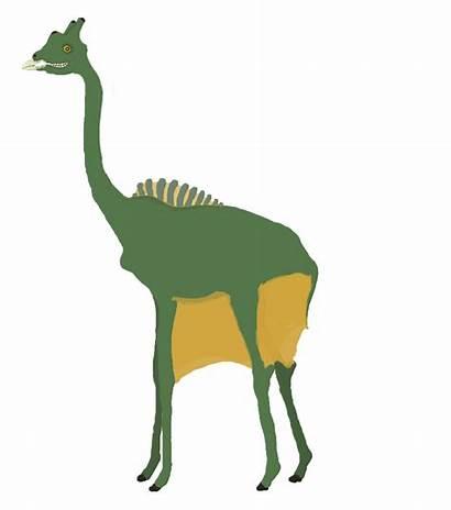 Todays Giraffe Deviantart Tomozaurus Dinosaur Challenge Drawing