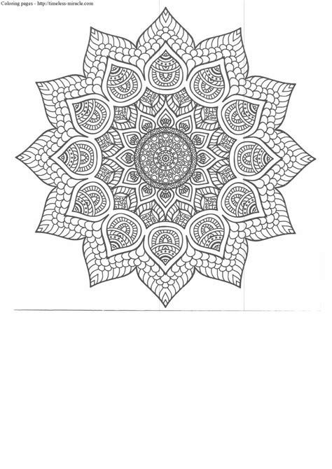 anti stress coloring pages  print timeless miraclecom