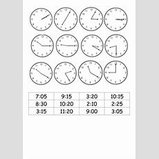 Match Analogue Clocks To 12 Hour Digital Times By Roso28  Teaching Resources Tes
