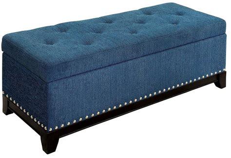 teal ottoman randi teal ottoman cm bn6272tl furniture of america