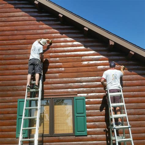log cabin stain carlisle pa cabin stain project profile just add paint