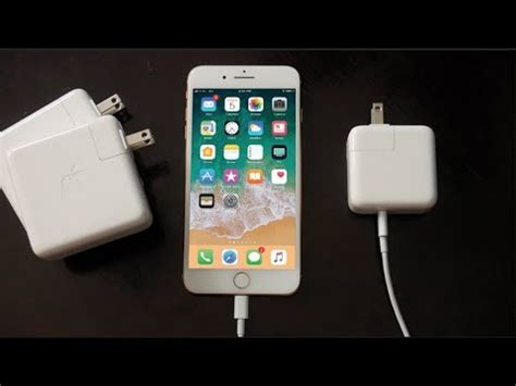 how to fast charge iphone 8 8 plus and iphone x 50 in 30 minutes