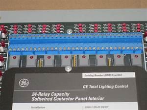 Ge Total Lighting Control 59yyy 24 Relay Dimming Panel