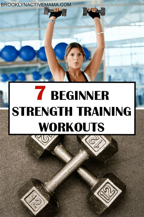 beginner strength training workouts brooklyn active mama