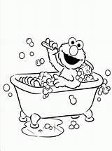 Coloring Elmo Bathroom Activity Printable Children Bestappsforkids Childrens Cad Getdrawings sketch template