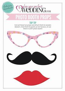 188 best images about diy photo booth props on pinterest With wedding photo booth props templates