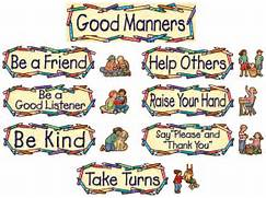 2020 Other | Images: Good Manners And Right Conduct Clipart