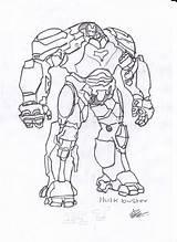 Hulkbuster Drawing Hulk Buster Iron Sketches Drawings Sketch Template Coloring Akshay Getdrawings Templates sketch template