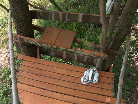 Camo Deck Screws For 2x6 by 2 Person Treestand Huntingnet Forums