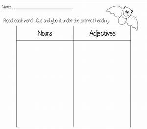 Year 2 Nouns And Adjectives Worksheet