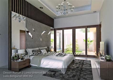 Desain Rumah 3 Lantai Luas Bangunan 400 M2 Bp Bona Jakarta