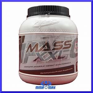 Mass Xxl Mutant Gainer Protein Powder Muscle Size Weight Gain Trec Nutrition