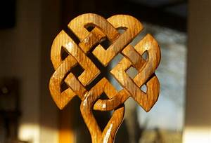 Celtic Tree Carving