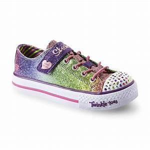 Skechers Twinkle Toes Lights Skechers Girl 39 S Twinkle Toes Sparkle Rainbow Light Up