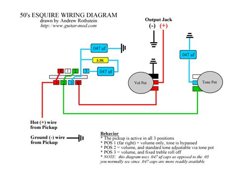 esquire wiring position 1 telecaster guitar forum